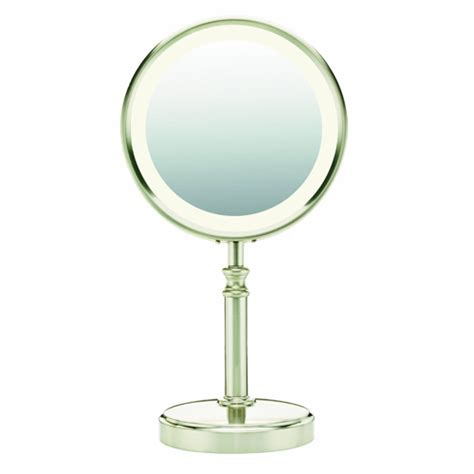 Conair Lighted Makeup Mirror by Conair Be116t 10x 1x Lighted Magnified Fluorescent Makeup