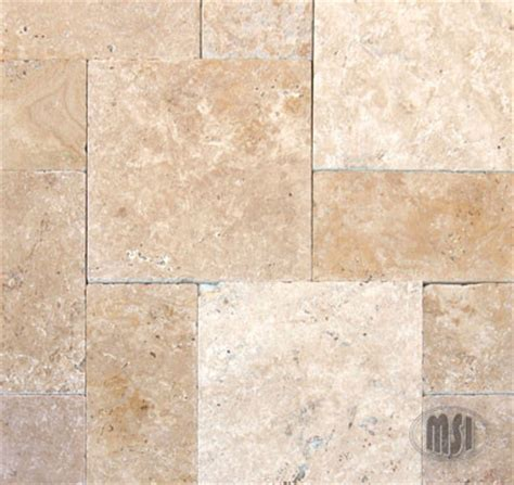 tuscany beige tumbled travertine wall and floor tile