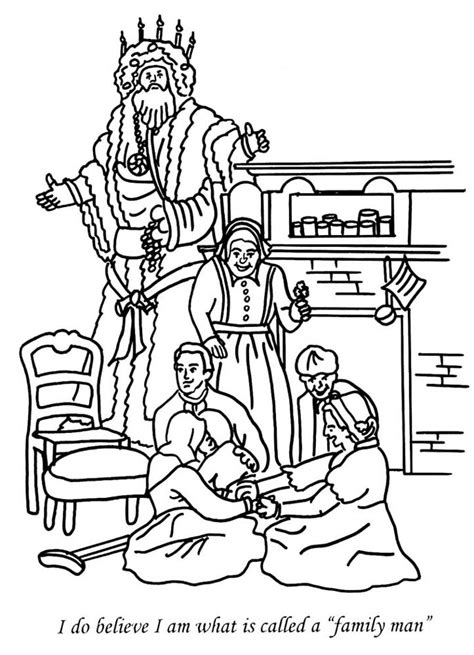charles dickens coloring pages