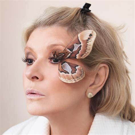 Martha Stewart Lashes Out by Makeup Martha Stewart