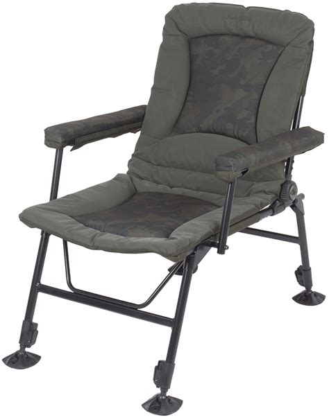 nash indulgence recliner chair nash indulgence daddy long legs camo chair chapmans angling