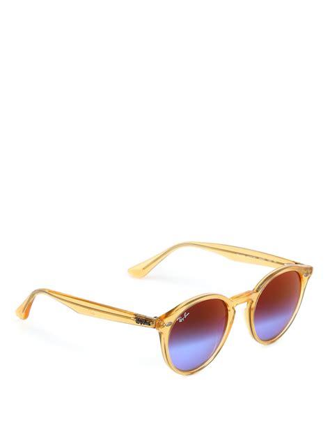 Original Ban Rb4243 Sunglasses Violet violet and blue lenses sunglasses by ban sunglasses