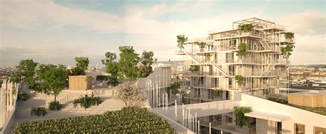 Roof Garden Floor Plan sou fujimoto laisn 233 roussel propose vegetated towers