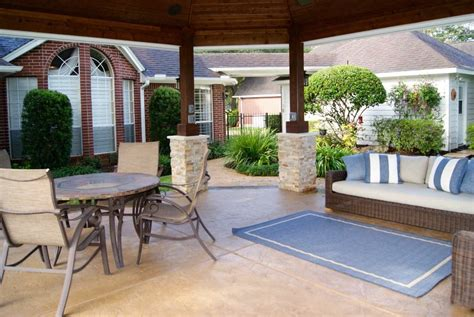 Best Patios In Cities by Missouri City Freestanding Patio Cover Custom Patios