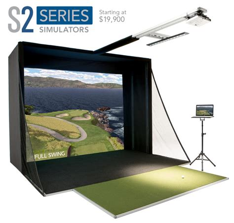 full swing golf simulator cost golf com features the new s2 simulator on the front page
