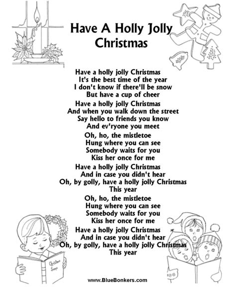 christmas printables printable song pin xmas