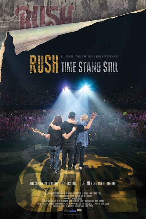 Time Rush 2016 Film Rush Time Stand Still Movie Information