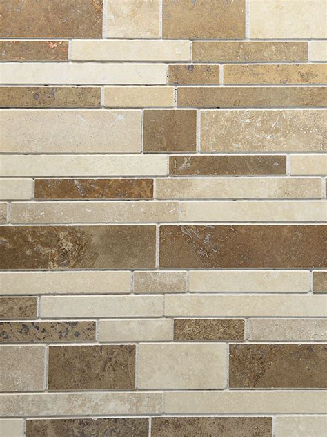travertine subway backsplash travertine subway mix backsplash tile for kitchen