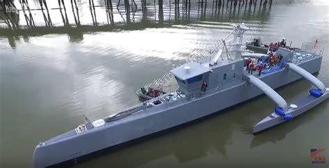upgrade  sea hunter   navys ft submarine hunting drone boat ybw