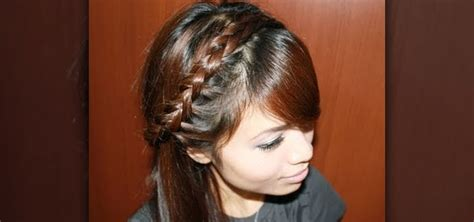 braided bangs hairstyles how to how to braid your bangs into a half dutch braid hairstyle