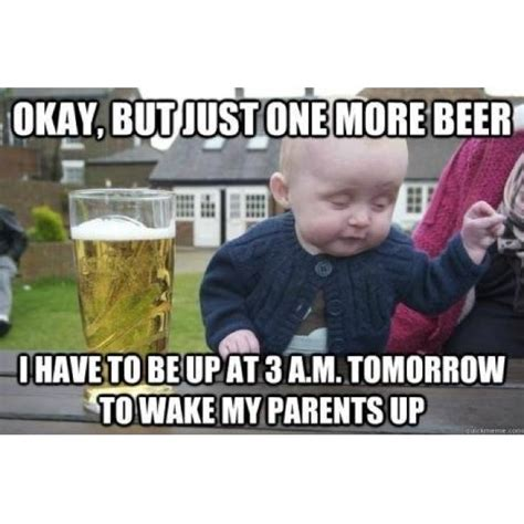Kid Drinking Beer Meme - baby beer joke laughables pinterest jokes chs