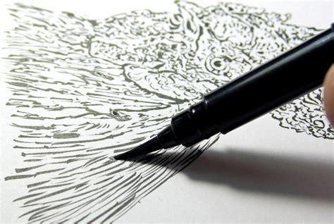 Ink Brush Pen pentel arts pocket brush pen includes 2