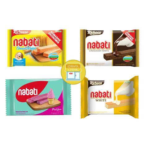 Nabati Richeese Wafer richeese nabati wafer keju coklat white pink lava