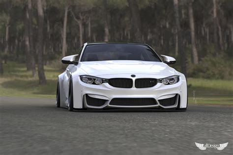 Bmw M4 Wide Kit by Wide Kit Liberty Walk Bmw M4 F82 Lb Works Alldesign