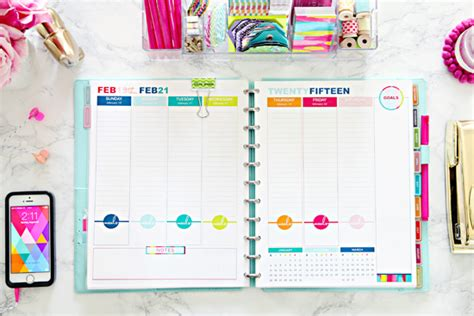 daily planner january 2015 iheart organizing 2015 daily planner faq s