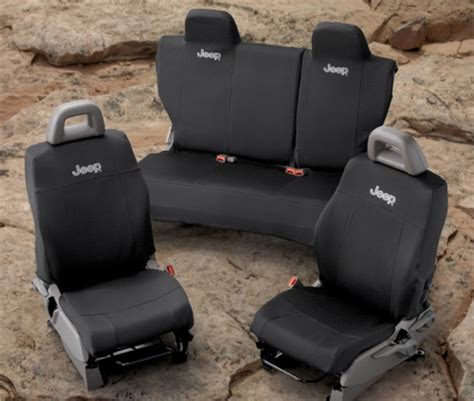 Jeep Patriot Seat Covers Mopar Oem Jeep Patriot Front And Rear Seat Covers