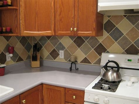 Painted Kitchen Backsplash Photos Paint A Tile Backsplash Risa Home