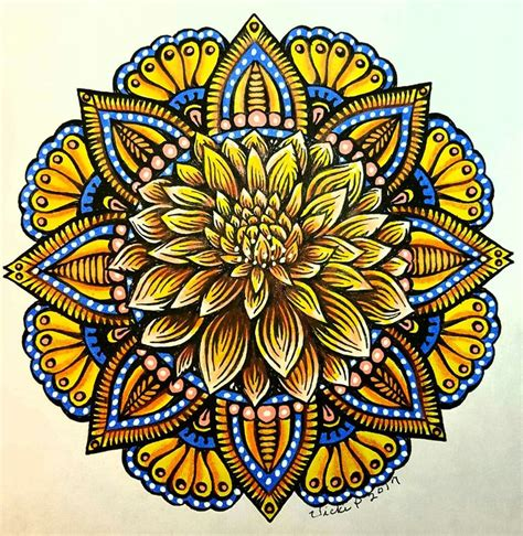 mandala coloring book with markers 1919 best mandala images on
