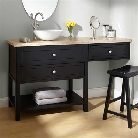 bathroom makeup vanity and sink bathroom makeup vanity and chair sink vanities 60