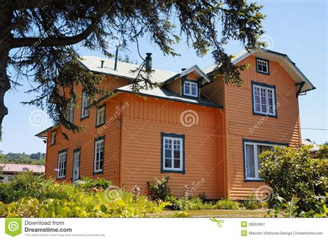 orange housing orange house royalty free stock photography image 28053967