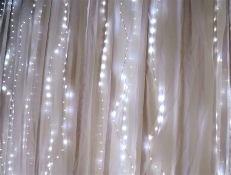 fairy light curtain lights 70 led 80 quot length battery