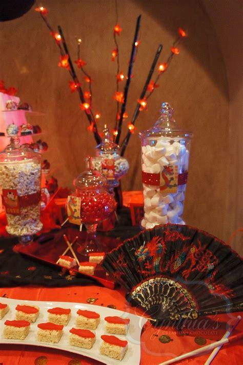 new year buffet decoration theme desert table buffet