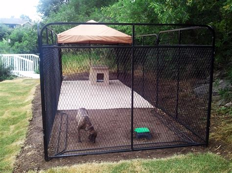kennels for outside fences for outside style the wooden houses