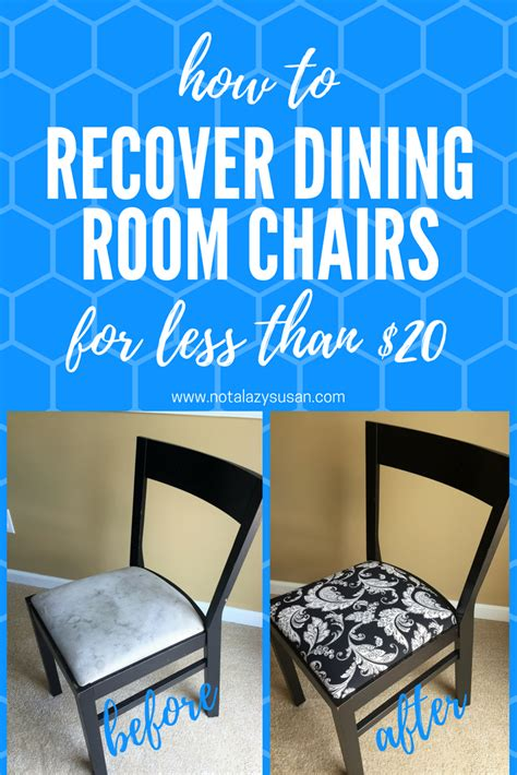 recovering dining room chair cushions how to re cover a dining room chair hgtv recovering