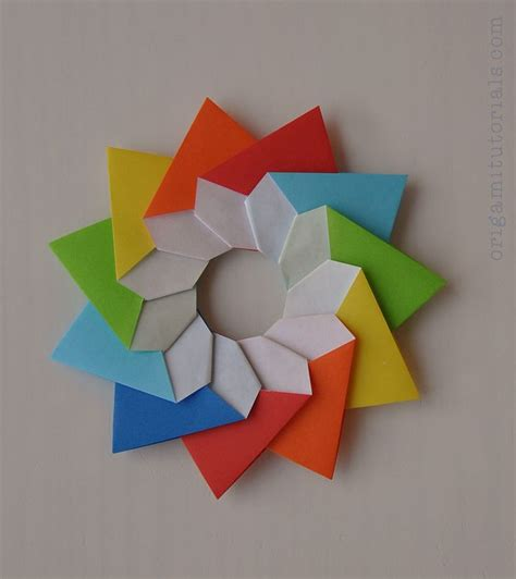 Origami Tutorial - 3310 best images about diy on advent calendar