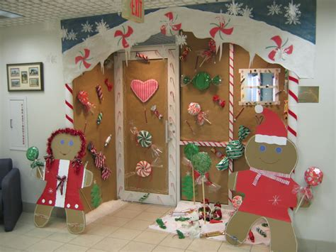 door decorating contest for christmas myideasbedroom com