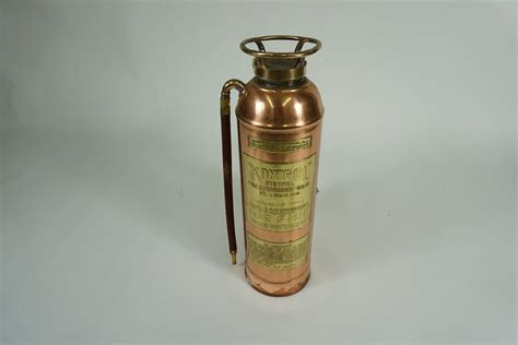decorative fire extinguisher sharp 1920s kontrol of st louis brass service station