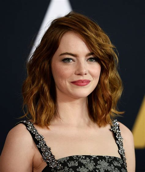 emma stone iq emma stone rocked a black and white dress with so much