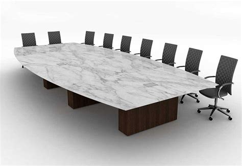 Large Boardroom Tables Large Marble Boat Shaped Boardroom Table Office Interiors Pintere