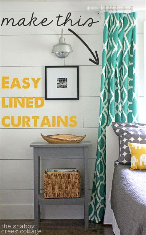 cheapest way to make curtains the easiest way to make your own lined curtains and the