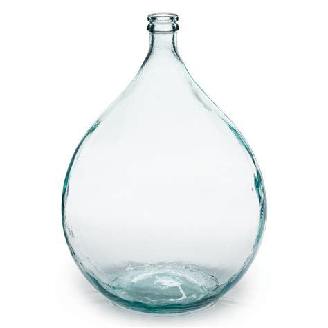 napa home garden european recycled glass bistro vase