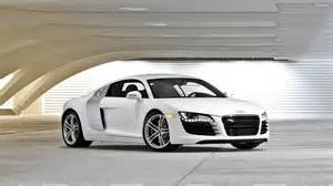 free wallpaper of the top cars a white sports car audi r8