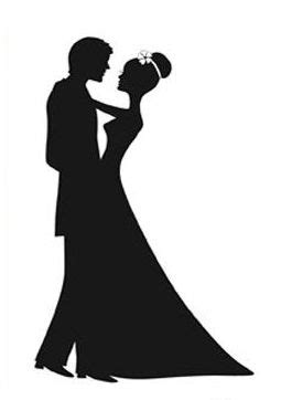 Wedding Shadow Images by Shadow Clipart Wedding Pencil And In Color Shadow