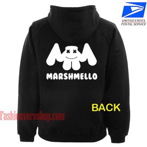Marsmellow Crop Hoodie marshmallow back hoodie unisex clothing