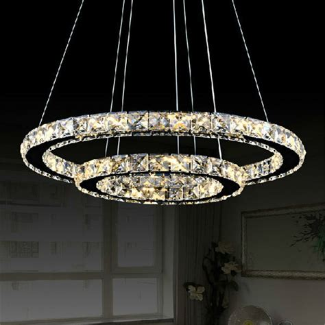 Circle Of Light Chandelier Modern Diy Design Led Chandelier Light Fixture Circle