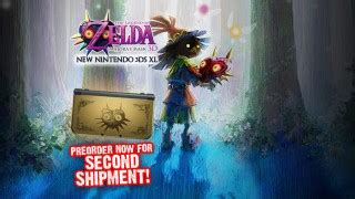 X 3ds Second eb australia now taking pre orders for majora s mask new 3ds xl second shipment the tanooki