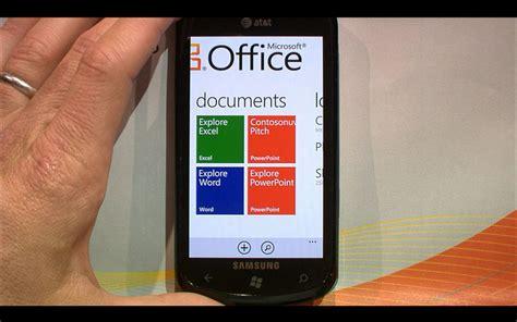 Office Mobile App january 2013 windows partner
