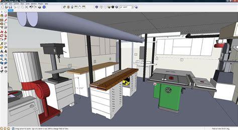 garage workshop layout software sketchup secrets to know and enhance your 3d models