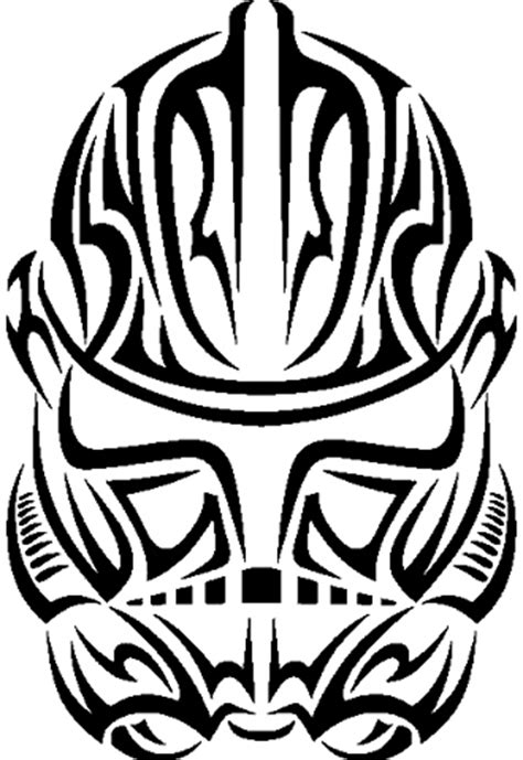 star wars tribal tattoo clonetrooper by mcq23 on deviantart