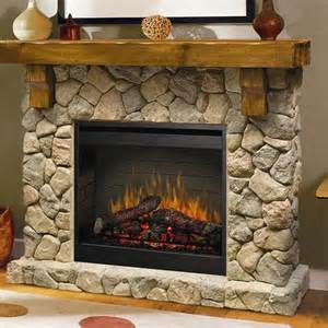 dimplex fieldstone 55 inch electric fireplace