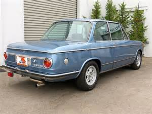 1972 Bmw 2002 For Sale 1972 Bmw 2002tii German Cars For Sale