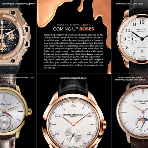 5 best gold watches for gear patrol