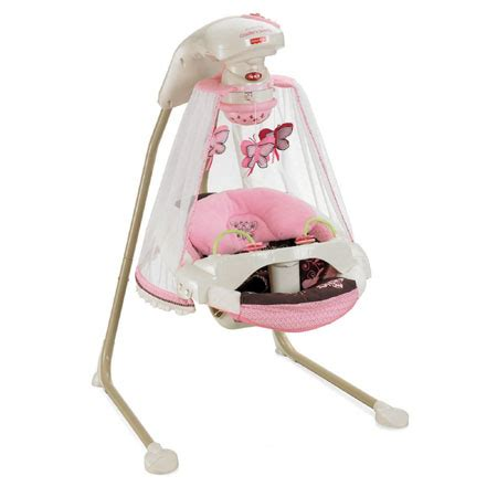 fisher price baby girl swing butterfly cradle baby swing offers an excellent place of