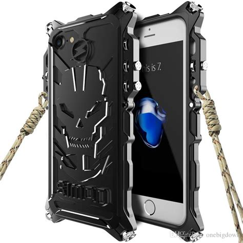 Zimon Proofings Premium Protection System For Iphone 6 metal cases for iphone 7 7plus heavy metal future phone cases covers for iphone