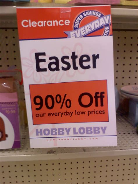chicks addicted  coupons hobby lobby clearance sales