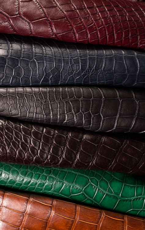 upholstery leather supply american alligator edelman leather